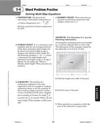 glencoe worksheets switchconf two step equations with fractions and decimals worksheets jennarocca multi