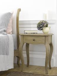 Weathered Oak Furniture Mimi French Style Bedside Table Loaf