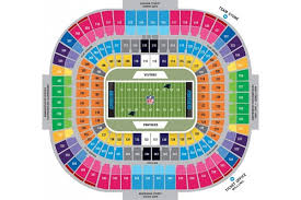 All Inclusive Seahawks Stadium 3d Seat Chart Mile High