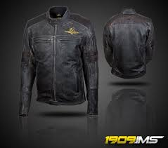 the 1909 ims is an exclusive vintage leather jacket that will be available at this summer s motogp event in indianapolis