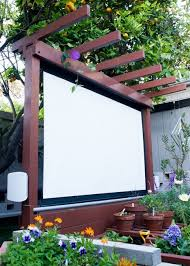 outdoor deck furniture ideas. a diy outdoor movie theater is just what your backyard needs this summer deck furniture ideas i