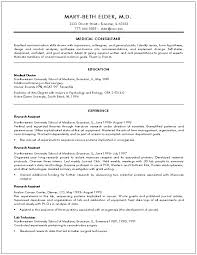 Brilliant Ideas of Doctors Resume Sample With Additional Form