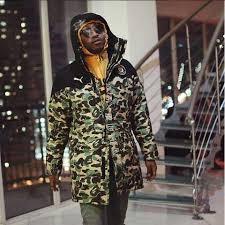 puma x bape. limited edition bape x puma full camo jacket 0
