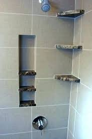 build a shower niche building a shower niche built in shower shelves shower storage built in