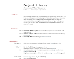 Academic Resume Or Cv Printcv Jobsxs Com