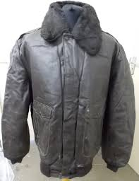 oakton limited men s type a 2 er leather jacket with removable collar fur liner made in usa y 16 2 5 kg