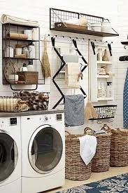the super organized laundry room