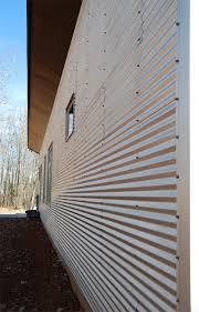 riverbirch residence galvanized corrugated siding