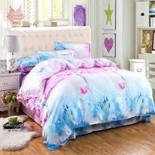 crazy home textile fl print duvet cover bed sheet pillowcase set queen size free