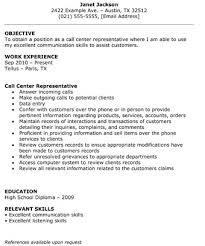 Call Center Resume Template Amazing Call Center Representative Resume The Resume Template Site Resume