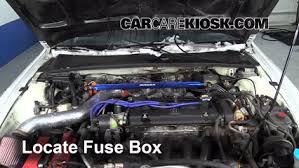 replace a fuse 1992 1996 honda prelude 1995 honda prelude si 1992 honda prelude fuse box at 1995 Honda Prelude Fuse Box