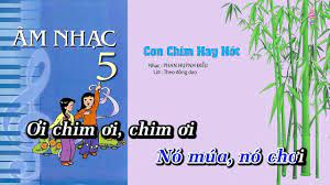 Bài 3 | Con Chim Hay Hót - Âm Nhạc Lớp 5 || Tập Hát Theo Lời | CD Bộ Giáo  Dục - Nhạc thiếu nhi mới nhất. - #1 Xem lời bài hát