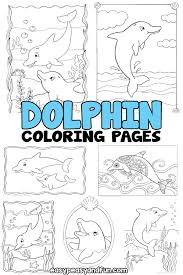 Here is a small collection of free dolphin coloring pages to print out for your kids, highlighting different species of. Dolphin Coloring Pages Easy Peasy And Fun