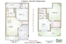 modern house map plan – Modern House
