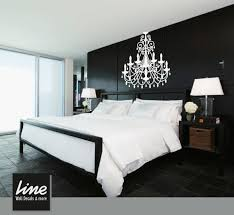 multi paneled black chandelier wall decal painting design decoration gallery digital classic simple simple target for