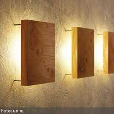 home wall lighting. Wonderful Way To Light Up Your Home: Wooden Wall Lamp /// Tolle Idee Home Lighting E