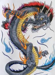 тату зеленый дракон значение 20 тыс изображений найдено в яндекс