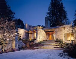 northwest contemporary home woodway residence