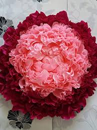 Paper Flower Wedding Decorations Giant Crepe Paper Peony Large Crepe Paper Flowers Wedding Decoration