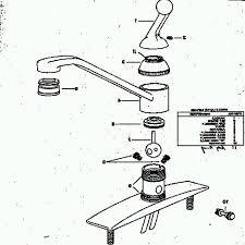 delta kitchen faucet repair diagram delta vessona parts delta shower parts diagram delta two handle