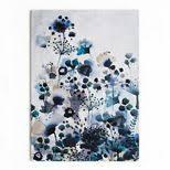 graham brown moody blue floral watercolour printed canvas wall art on debenhams wall art canvases with graham brown moody blue floral watercolour printed canvas wall art