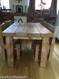 dining furniture solid wood. image is loading rustic-chunky-beam-dining-table-3-034-thick- dining furniture solid wood e
