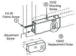 sliding glass door replacement wheels sliding glass door rollers parts