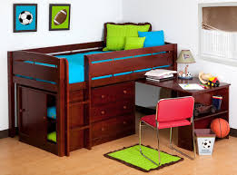 cool loft beds for girls bedroom purple white wooden bed adorable teenagers design with