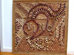wine cork board in a very rare frame by picture kit