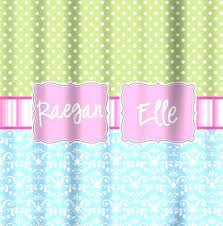 pink and green shower curtain green shower curtains mini dot pink stripe band blue damask mint
