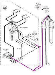 mercruiser 228 ignition coil wiring diagram