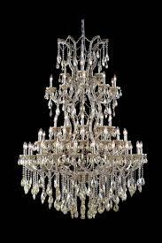 maria theresa 61 light golden teak chandelier golden teak smoky swarovski elements crystal
