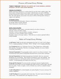 formal essay examples essay checklist 11 formal essay examples
