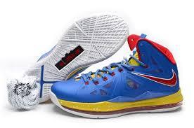 lebron shoes 2015 blue. 2015 nike lebron 10 royal blue varsity red yellow shoes l