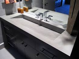 concrete trough sink concrete trough sink powder your nose