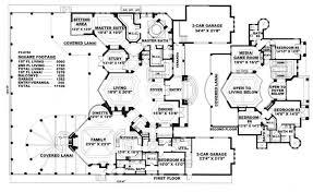 blueprint quickview front  luxury home s plans plano casa lujosa y    floor plans