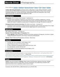 Experience Resume Impressive Photographer Resume Sample Monster Com Resume Cover Letter Printable