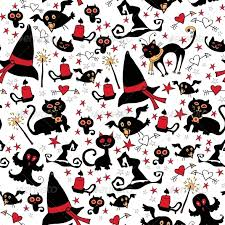 Halloween Pattern Interesting Halloween Seamless Pattern With Witch Things By PictuLandra