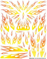 Drawn Flames Car Template - Pencil And In Color Drawn Flames Car ...