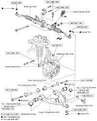 Pictures gallery of toyota 4runner rear suspension diagram
