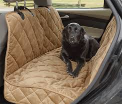 deluxe dog hammock car seat protector grip tight quilted microfiber hammock seat protector orvis