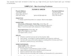 Resumes With Objectives Resumes Objectives Wikirian Com
