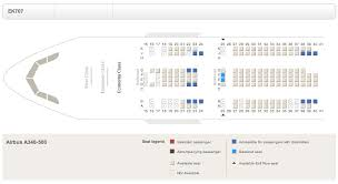 Airbus A340 500 Seating Chart A340 500 Seat Map Oddities Flyertalk Forums