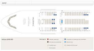 a340 500 seat map oddities flyertalk forums