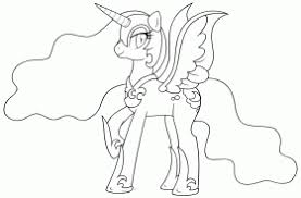 Small Picture My Little Pony Nightmare Moon Coloring Pages Sketch Coloring Page