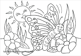 Coloring Sheets For Toddlers Free Spring Coloring Pages For Toddlers