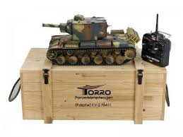 <b>Радиоуправляемый танк Torro</b> Russia KV-2 1:16 2.4GHz ...