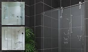 semi frameless sliding shower door beautiful frameless glass shower door handles image collections doors design