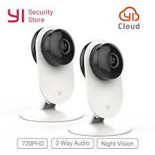 <b>YI</b> Home <b>1080P</b> Camera 2PCS Night Vision Wireless <b>IP</b> Bayby ...