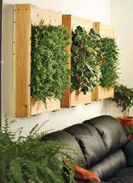 ... Contemporary Home Interior Decoration Using Various Indoor Green Wall :  Contemporary Living Room Decoration Using Indoor ...